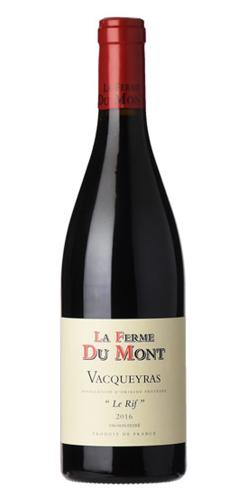 le-grand-cru-rode-wijn-vacquevras-le-rif-la-ferme-du-mont